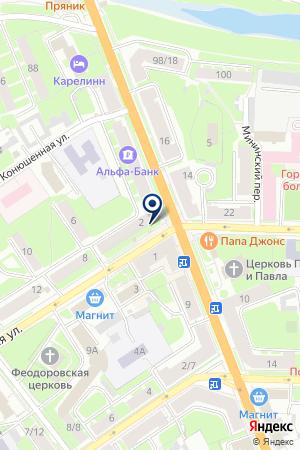 Твоя цена на карте Великого Новгорода