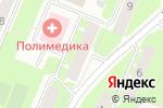 Схема проезда до компании Участковый пункт полиции №8 в Великом Новгороде