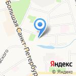 Государственный архив Новгородской области на карте Великого Новгорода