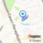 Планета на карте Великого Новгорода