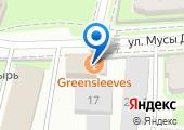 Greensleeves на карте
