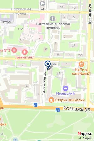 Авторадио Великий Новгород, FM 103.7 на карте Великого Новгорода