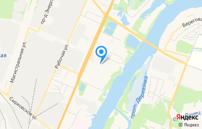 Местоположение на карте пункта техосмотра по адресу г Великий Новгород, ул Щусева, д 4 к 3