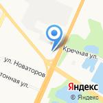 ПТК на карте Великого Новгорода