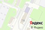 Схема проезда до компании Гамма в Великом Новгороде
