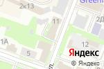 Схема проезда до компании Комитет ветеринарии в Великом Новгороде