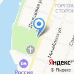 На Торгу на карте Великого Новгорода