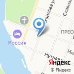 Евангелическо-Лютеранская церковь святого Николая на карте Великого Новгорода