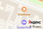 Схема проезда до компании Сферы в Великом Новгороде