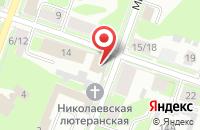 Схема проезда до компании Лидеры в Ромашково