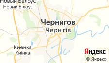 Гостиницы города Чернигов на карте