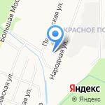 Отдел лицензионно-разрешительной работы и контроля за частной детективной и охранной деятельностью на карте Великого Новгорода