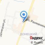 Банкомат на карте Великого Новгорода