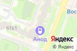 Схема проезда до компании Манэ в Великом Новгороде