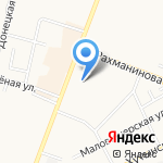 Славия на карте Великого Новгорода