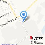 Академия на карте Великого Новгорода