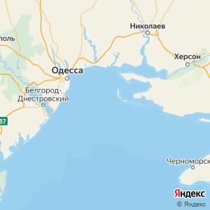 Карта Черного моря