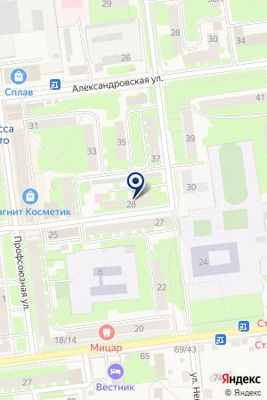 КЛЕПСИДРА-2 на карте Старой Руссы