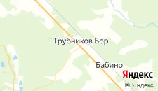 Отели города Трубников Бор на карте