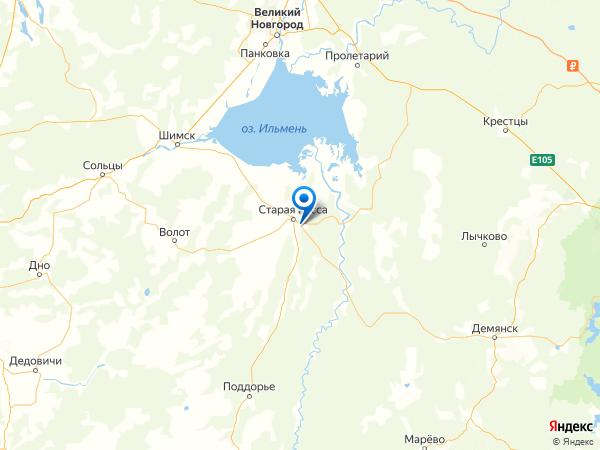 деревня Соболево на карте