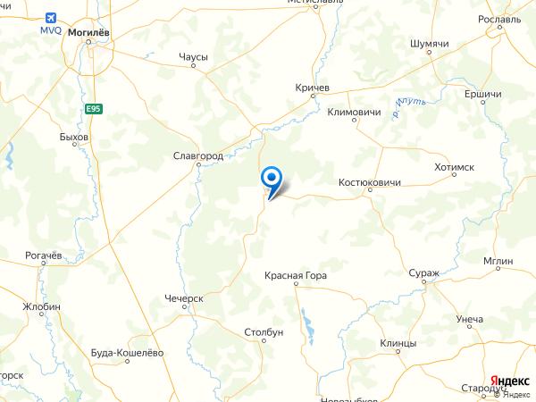 поселок Ломы на карте