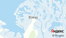 Отели города Взвад на карте