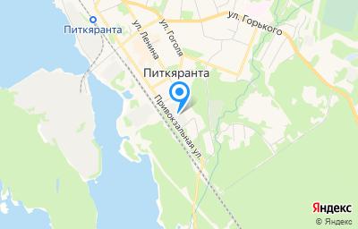 Местоположение на карте пункта техосмотра по адресу Респ Карелия, г Питкяранта, ул Привокзальная, д 1, пом 2