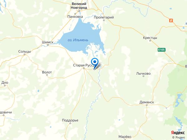 деревня Киево на карте