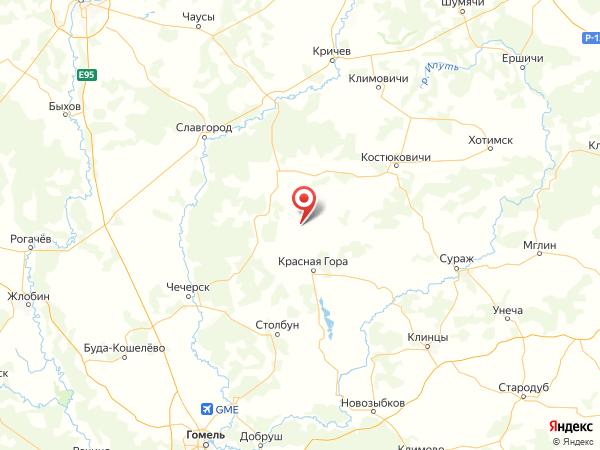 поселок Никольск на карте