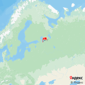 Weather station street in gorodskoy  Naziya, Leningrad Region, Russia