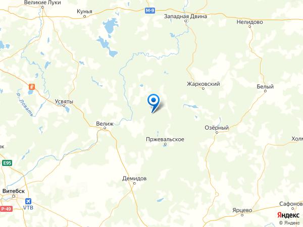 деревня Дор на карте