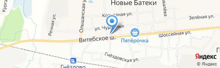 Магнит на карте Глущенок
