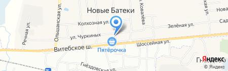 Почтовое отделение на карте Глущенок