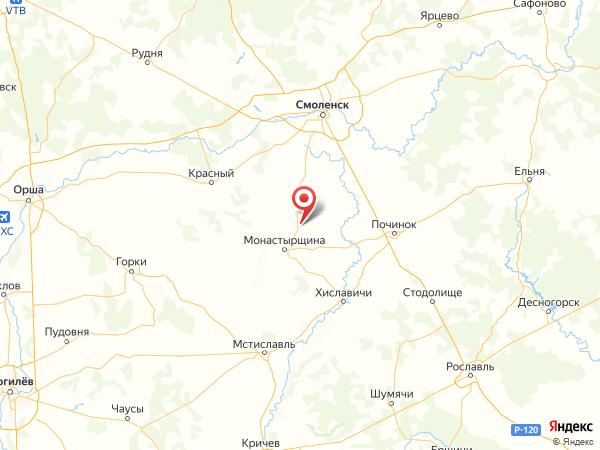деревня Александровское на карте