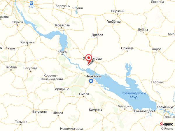 село Коробовка на карте