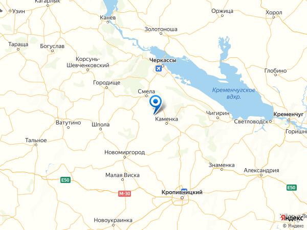 село Райгород на карте