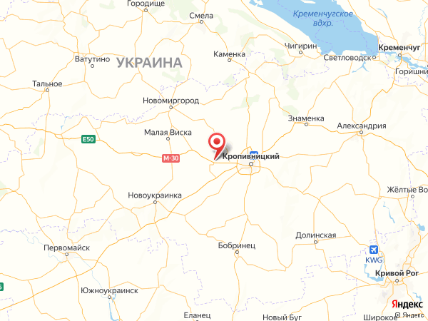 село Ивано-Благодатное на карте
