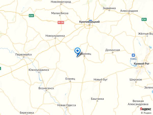 село Грузское на карте