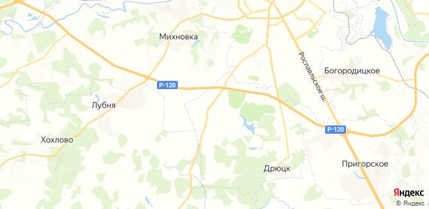Щеченки на карте