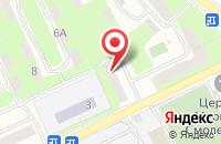 Схема проезда до компании Авто - Проф в Смоленске