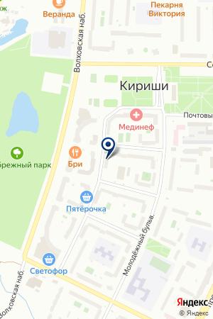 ГСК ЭРА на карте Волхова