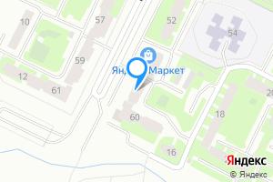 Сдается однокомнатная квартира в Киришах Ленинградская область, проспект Ленина, 58