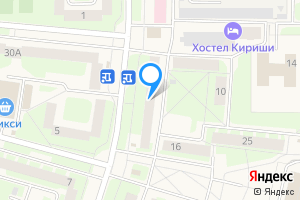 Однокомнатная квартира в Киришах Ленинградская область, Молодёжный бульвар, 12