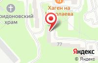 Схема проезда до компании Анткор в Смоленске
