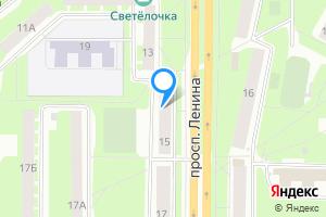Трехкомнатная квартира в Киришах Ленинградская область, проспект Ленина, 15