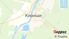 Отели города Кириши на карте