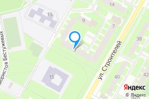 Двухкомнатная квартира в Киришах Ленинградская область, улица Строителей, 9
