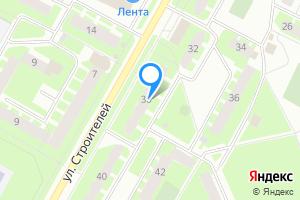 Двухкомнатная квартира в Киришах ул Строителей 38