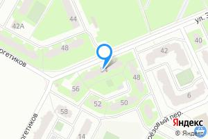 Однокомнатная квартира в Киришах Ленинградская область, улица Энергетиков, 54