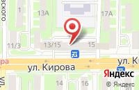 Схема проезда до компании Интерфинанс в Смоленске